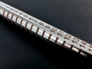 Laser engraving on the whole of a steel pipe