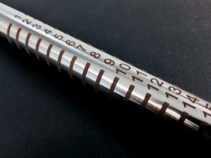 Incisione laser su tubo di acciao a 360°