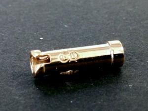 Laser engraving on brass rod eyewear